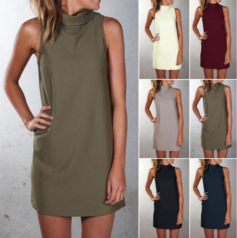 2017 <font><b>5XL</b></font> Plus Size Summer Style Women <font><b>Dress</b></font> Loose Casual <font><b>Sexy</b></font> <font><b>Club</b></font> Mini <font><b>Dress</b></font> Sleeveless Straight <font><b>Dress</b></font> For Women Vestidos image