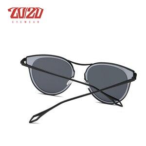 Image 5 - 20/20 ファッション偏光サングラスの女性スタイル金属フレーム有名な女性のブランドのデザイナー oculos feminino P0877