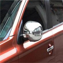 Para Mitsubishi Outlander 2013 2014 Cubierta Del Espejo Retrovisor Cubierta Del Espejo Lateral Especial Modificado ABS Chrome Recortar 2 unids Por Juego