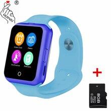 HUINIU D3 Bluetooth Smart Watch Fitness Tracker Pedometer SIM For Kids Boy Girl Gift Children font