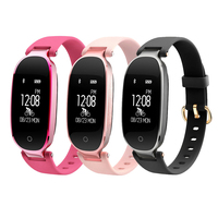 S3 Smart Band Heart Rate Monitor Bluetooth Women Wristband IP67 Waterproof Smartband Bracelet Fitness Tracker For