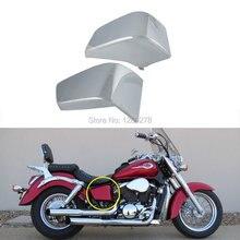 Chrome Батареи Сторона Обтекателя Металлическая Крышка, Пригодный Для Honda Shadow ACE VT 750 1997-2003