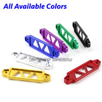 XYIVYG 170MM 145MM BLACK Red Gold Blue Purple BILLET ALUMINUM CAR BATTERY TIE DOWN MOUNT BRACKET
