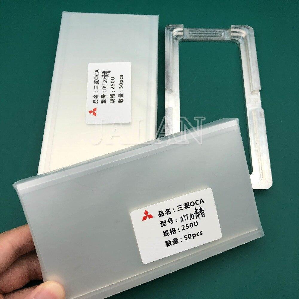 Jalan 250um OCA Lem untuk HUAWEI Mate 10 Lite/Mate 20 Lite untuk Mitsubishi OCA Stiker Perekat Rusak LCD layar Sentuh Perbaikan