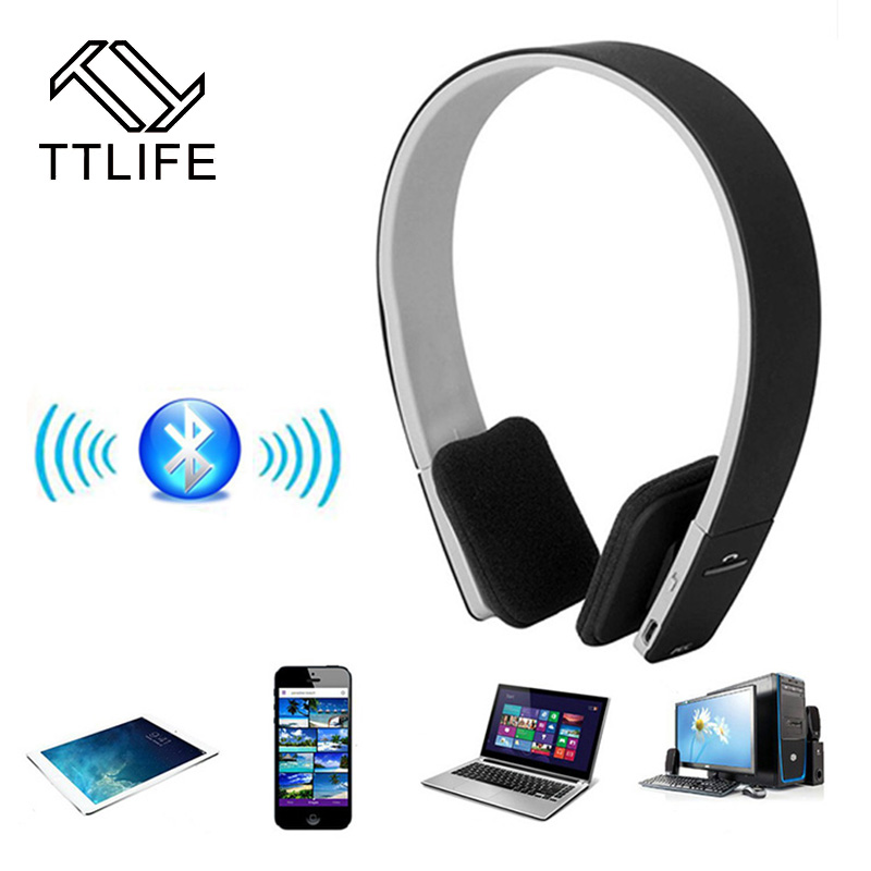 TTLIFE New Stereo Headset Bluetooth Earphone Headphone V3.0 Wireless Bluetooth Handfree Universal For All Phone For phone hot sale ttlife smart bluetooth 4 1 earphone upgraded wireless sports headphone portable handfree headset with mic for phones