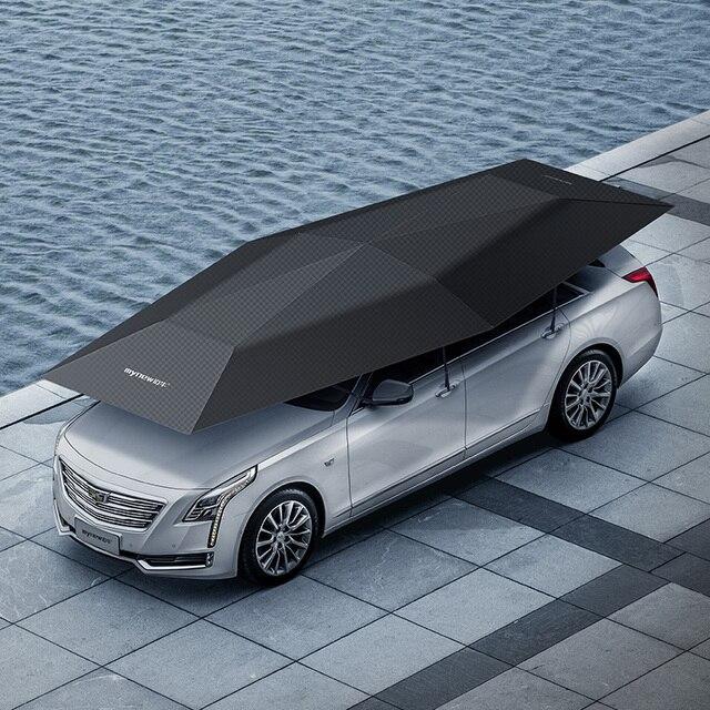 Pare soleil de voiture automatique avec télécommande sans fil, accessoires pour voiture, 1 pièce, LOGO OEM, 4.5 mètres bâche de voiture, 1 pièce