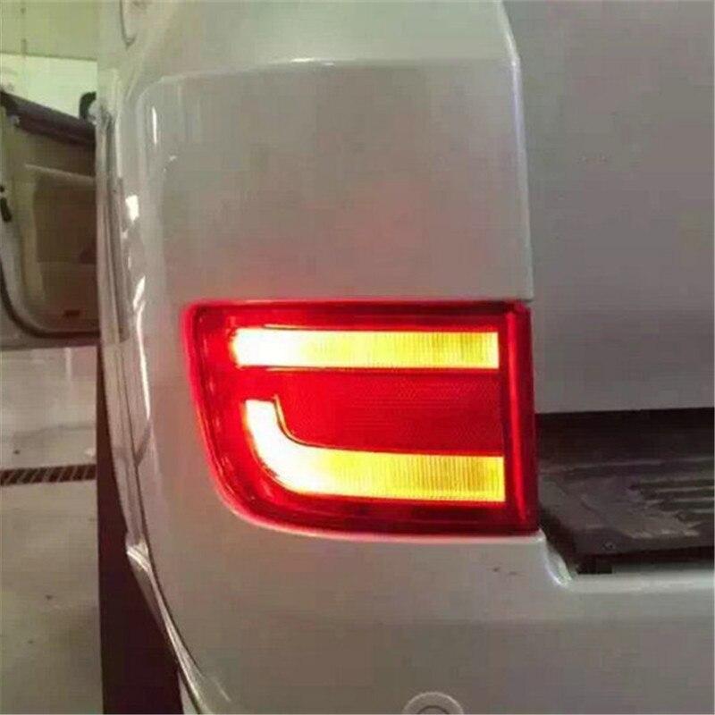 SNCN Led rear driving lights for Toyota Land Cruiser 200 GV 2016 2017 Led Brake Lights rear bumper lamp warning light dongzhen fit for nissan bluebird sylphy almera led red rear bumper reflectors light night running brake warning lights lamp