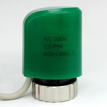Окончательный Очистить Нормально Открытый НЕТ Электрические Тепловые Привод для Многообразия полы Отопление клапан часть 230 В радиатор, термостат