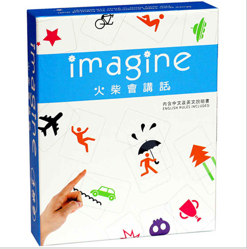 Imagine Board Game Matches will speak 17 5 22 4 4cm Imagination Game English Rules Included