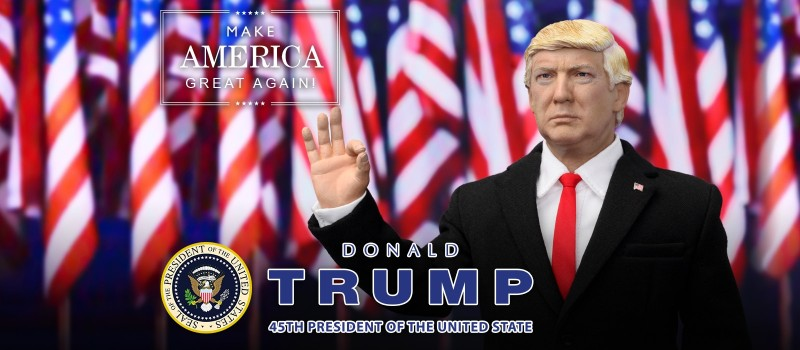 1:6 scale figure doll US America president Donald Trump with 2 headsculpts 12 Action figure doll Collectible model plastic toy 1 6 scale figure accessories french bulldog sleep for 12 action figure doll animal model toy not include doll and other