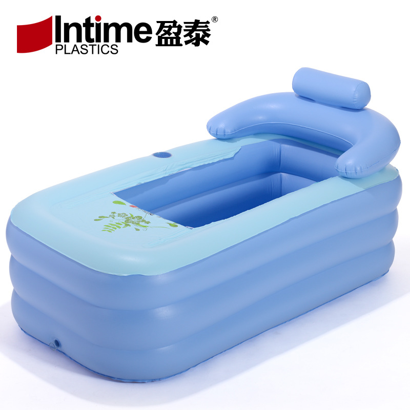 New high quality inflatable bathtub adult inflatable bathtub baby pool foldable tub Safe and non toxic swimming pool