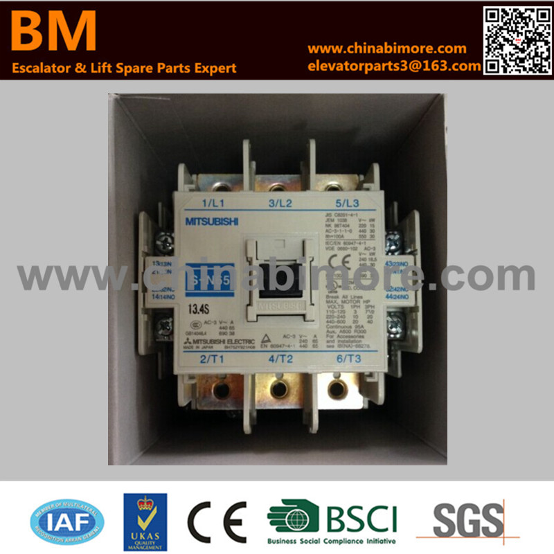Elevator AC Contactor S-N65 free shipping 1pc high quality 80a mager ssr mgr 3 032 3880z dc ac three phase solid state relay dc control ac 80a 380v