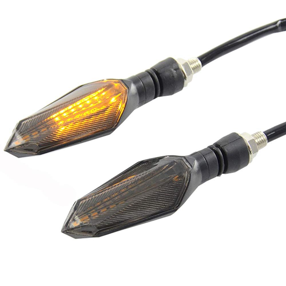12V Led Motorcycle Turn Signal Brake Lamp Indicator Light Flasher Blinker For Honda xr cbf 600 shadow cbr 1000rr cbr600rr cb600f