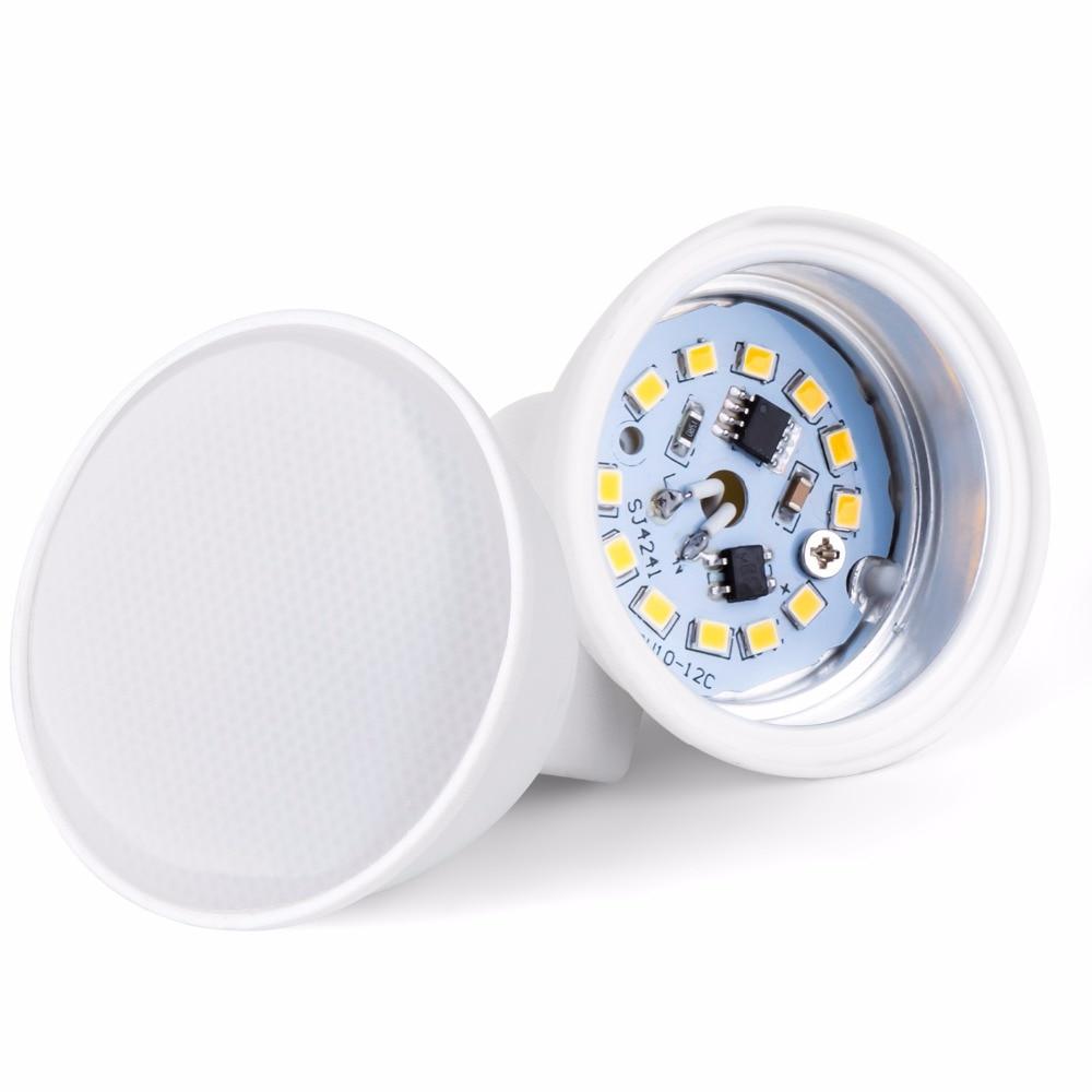 Image 2 - GU10 Led Lamp 220V Spotlight Led Bulb MR16 Lamp Corn Bulb 5W 7W Bulb 2835SMD Lampada Led gu 10 Halogen GU5.3 Spot Light For Home-in LED Bulbs & Tubes from Lights & Lighting