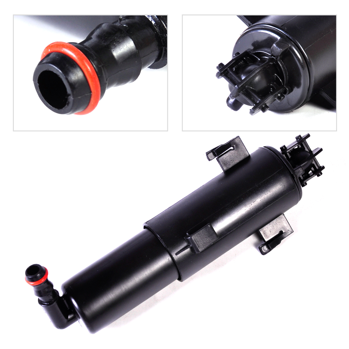DWCX Car Headlight Headlamp Cleaning Washer Nozzle Pump Cylinder 61677179311 61674449335 For BMW E90 3 Series 323i 325Ci 328i