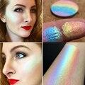 Caliente Marca Maquillaje Del Contorno Natural Cara Abrillantador Cara Shimmer Rainbow Bronceador Highlighter Contorno Paleta Kit de Maquillaje