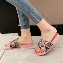 Summer Flat Ladies Home Sandals Slippers Women Serpentine Slip On Dames Mules Outdoor Slipper Shoes Woman Luxury Pantuflas Mujer