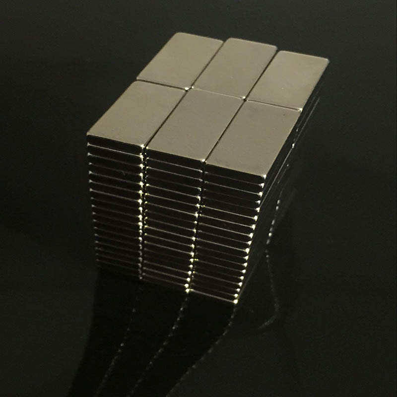 10pcs High Quality 20x10x3mm Super strong neo neodymium magnet 20x10x3, NdFeB magnet 20*10*3mm, 20mm x 10mm x 3mm magnets Newest 5 x 20mm cylindrical ndfeb magnet silver 20pcs pack