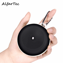 Mini Portable Wireless Bluetooth Waterproof Speaker Outdoor Sport Loudspeakers With FM Radio Hook For IOS Android Smart Phone PC