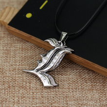 Wholesale Japan Anime Death Note Necklace&Pendant Letter L 2 Rows Personality Vintage New Accessories Gift Death Note Necklace