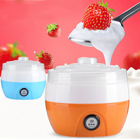 Mini Yogurt Maker Machine Yougurt Natto Rice Plastic Material Simply operate yogurt making machine Kitchen Appliances
