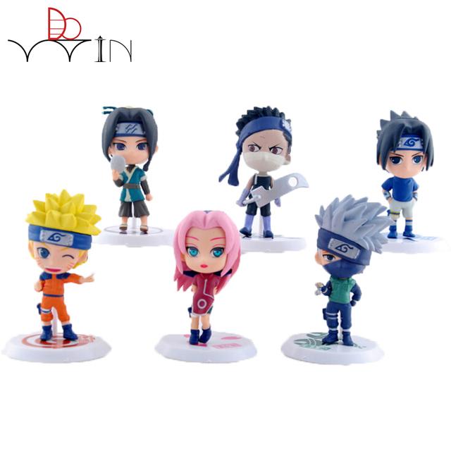 1Pcs  Naruto Figure SHF Figuarts Sasuke Naruto Collectible Action Figures Toy