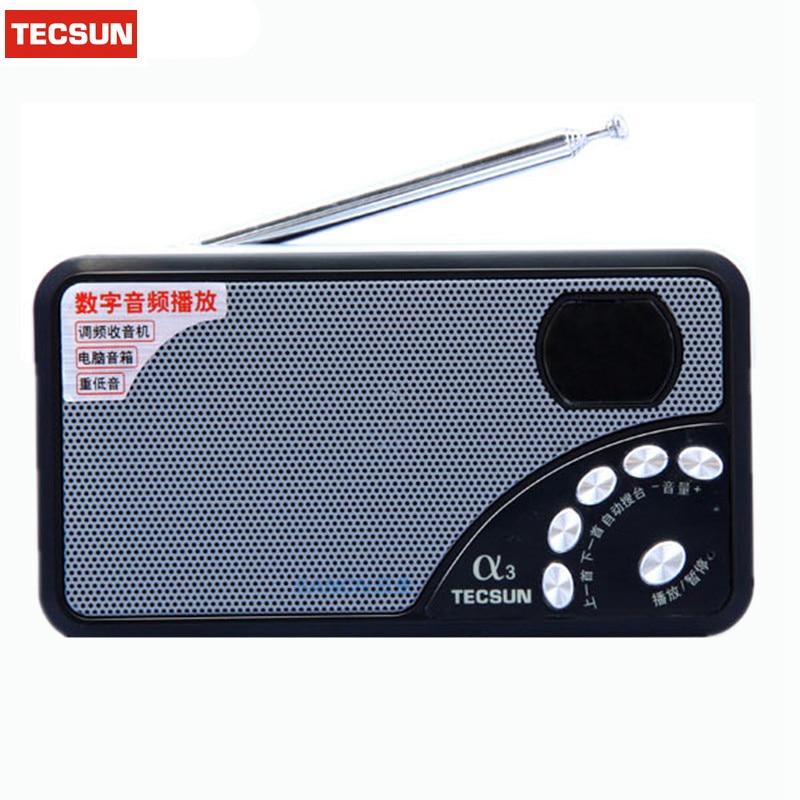 Qualifiziert Neue Tecsun A3 Fm Radio Digital Portable Radio Mini Radio Eingebauten Lautsprecher Radio Hohe Empfindlichkeit Digitale Empfänger Tf-karte Player Unterhaltungselektronik Tragbares Audio & Video