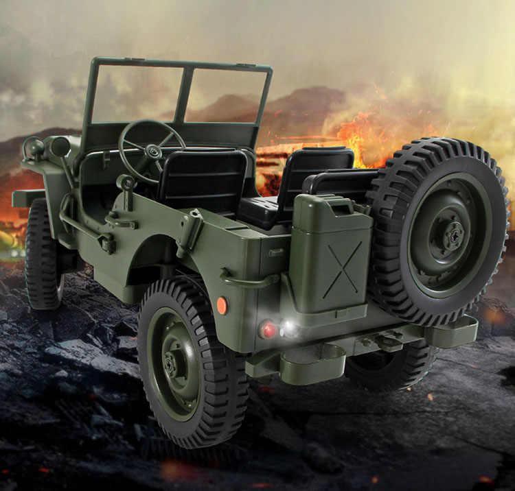 Convertible Jjrc Route 4wd Télécommande Hors Escalade Rc 2 Roues Quatre Militaire Voitures Jouets Voiture 10 Q65 Lumière Motrices 1 Camion Jeep 4g LMqUpSjGzV
