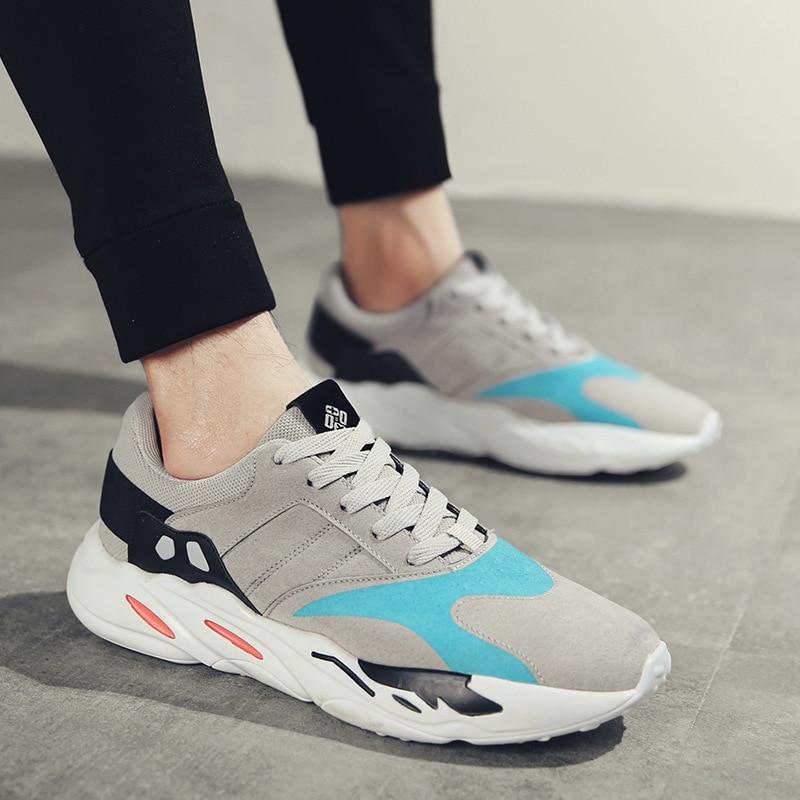 Aumento Masculinos Dos Ao Preto Ar De Sapatos Correspondência Céu Novos Tendência Casuais vermelho Livre Homens 2018 Baixos Cores azul 46fIqW