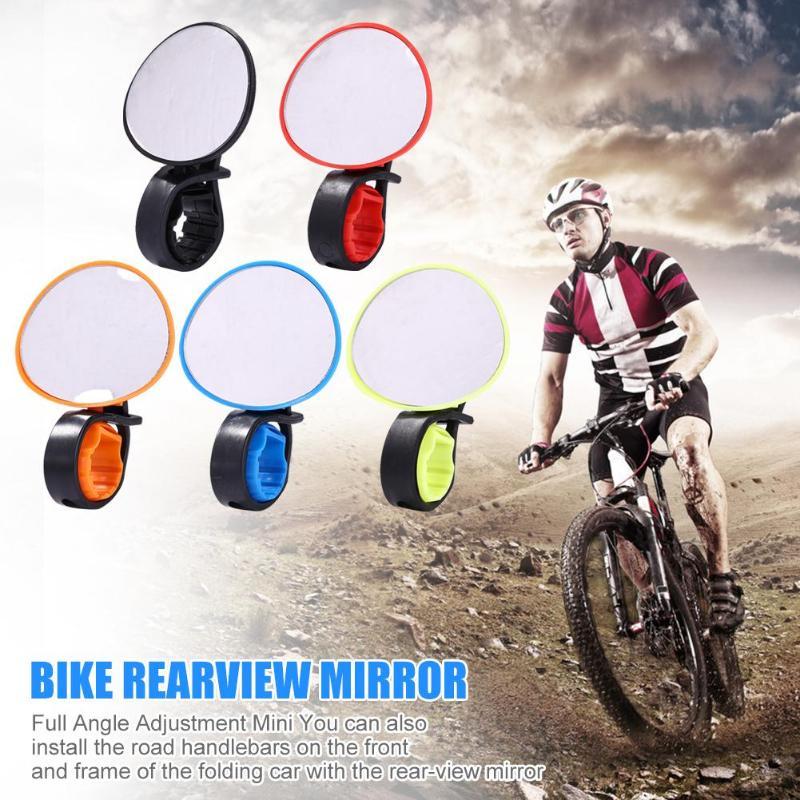 Rotate Bike for Bicycle Cycling MINI Universal Handlebar Rearview Mirror 360?