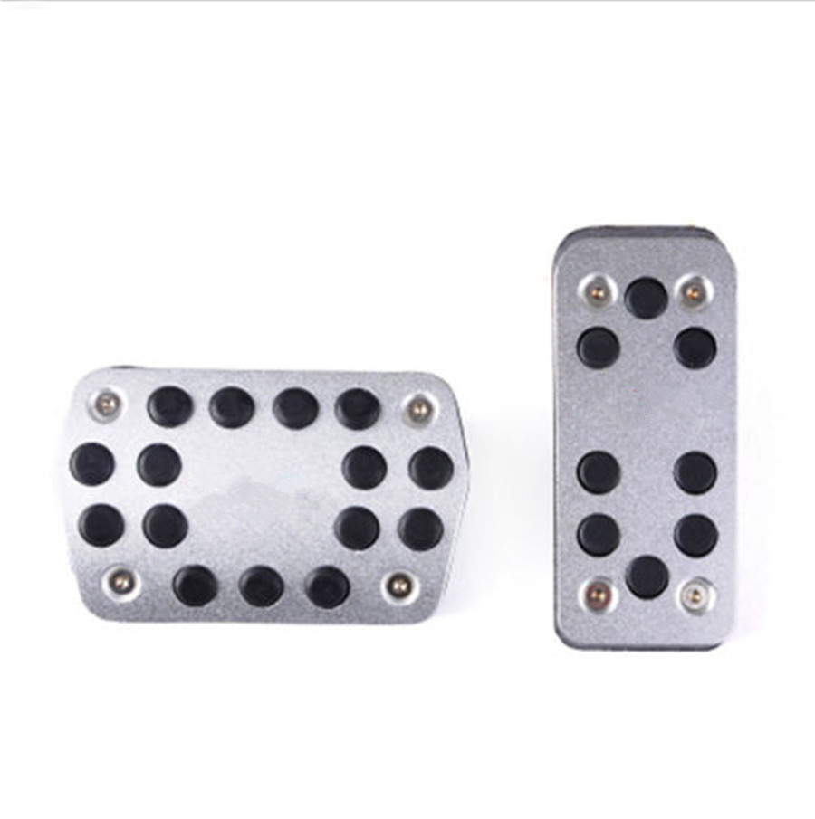 Manual NO DRILL Auto Gas Brake Cluth Pedal Replacement Kits For 2012 2018 Ford Focus Foot Pedals Pads Cover in Pedals from Automobiles Motorcycles