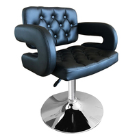 Black White Leather Barber Chair Styling Salon Beauty Equipment For Home Furniture Shellhard