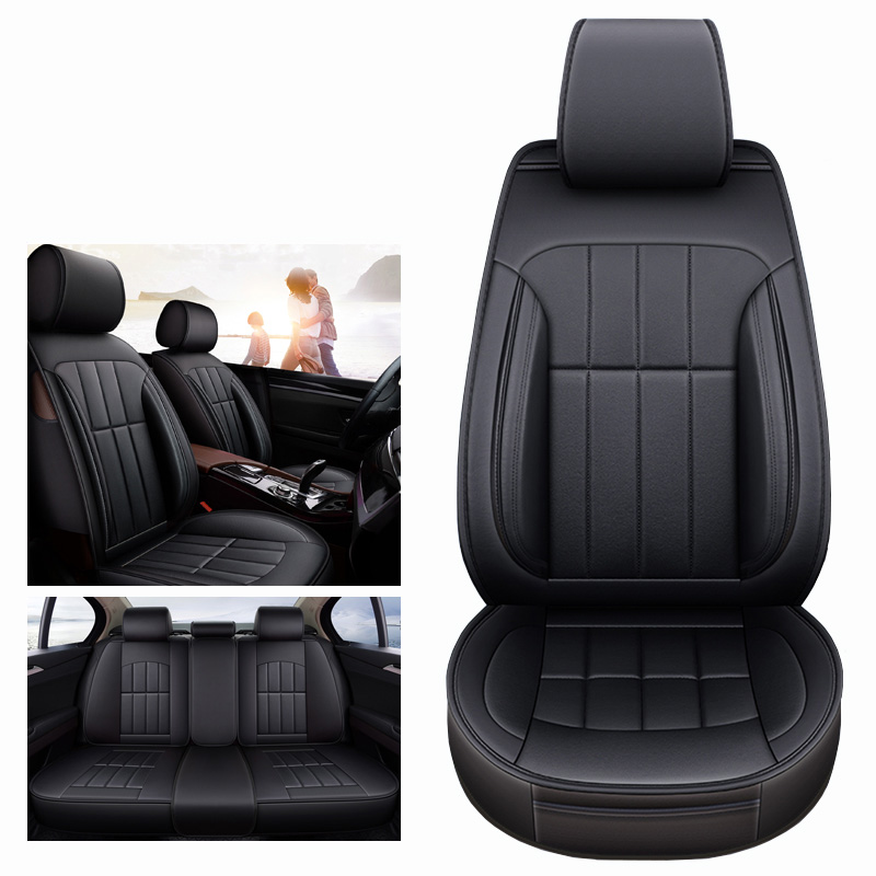 (Front+Rear) universal leather car seat cover for benz mercedes w163 w164 w166 w201 w202 t202 w203 t203 w204 w205 2009 2008 2007 цена