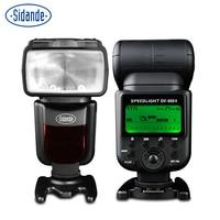 STD DF 660 flash D90 for Nikon D5200 top down SLR camera top ttl lead off the machine TTL large index fast call back