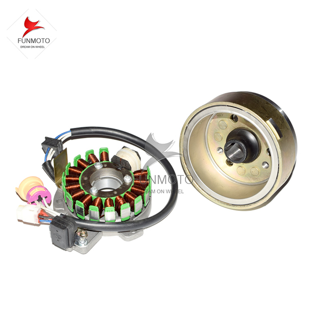 Magnetic motor Stator and rotor engine parts for JIANSHE250 ...