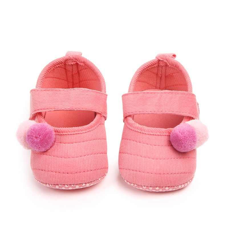Baby Meisjes Schoenen Peuter Zuigeling Eerste Wandelaars Voor Pasgeboren Herfst Winter Kinderen Zachte Zool Antislip Crib Schoenen Sneakers nieuwe