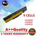 Al por mayor nueva 9 celdas de batería portátil 121500049 para lenovo g500 y485n series g580 ideapad z480 y480 y580 y580n