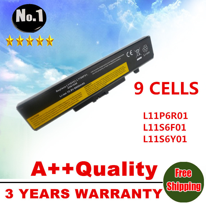 WHOLESALE NEW 9CELLS LAPTOP BATTERY 121500049 FOR LENOVO G500 Y485N Series IdeaPad G580 Y580 Y480 Z480 Y580N