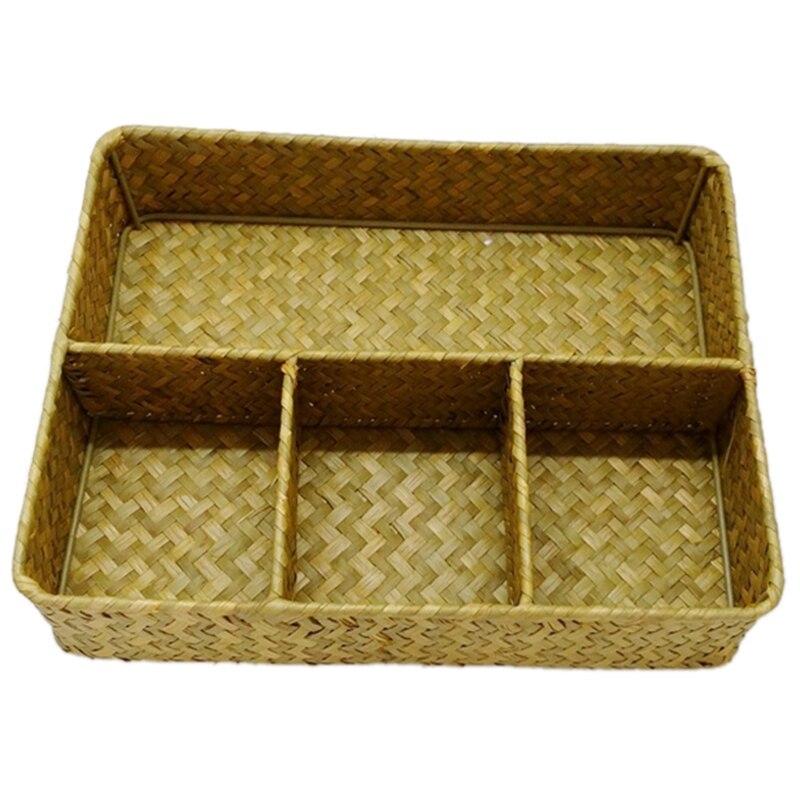 rattan basket small from storage box.htm jeyl handmade natural straw five frame storage box rattan wicker  jeyl handmade natural straw five frame