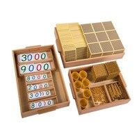 Новые международные детские игрушки Монтессори математика детские развивающие игрушки для детей Подарки