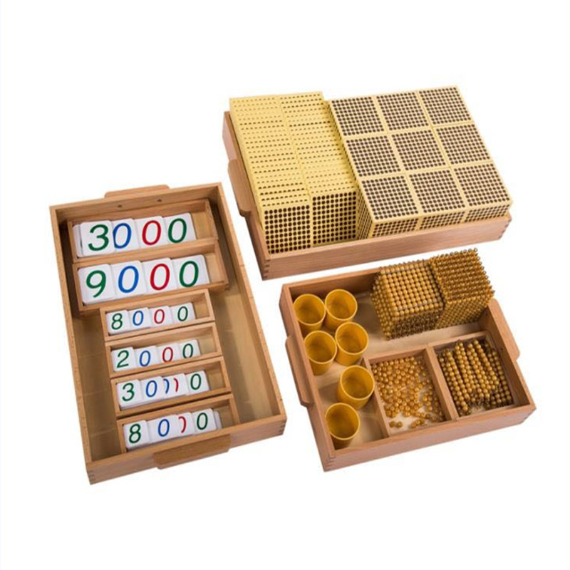 Nouveau International Montessori bébé jouets mathématiques bébé jouets éducatifs bébé cadeaux
