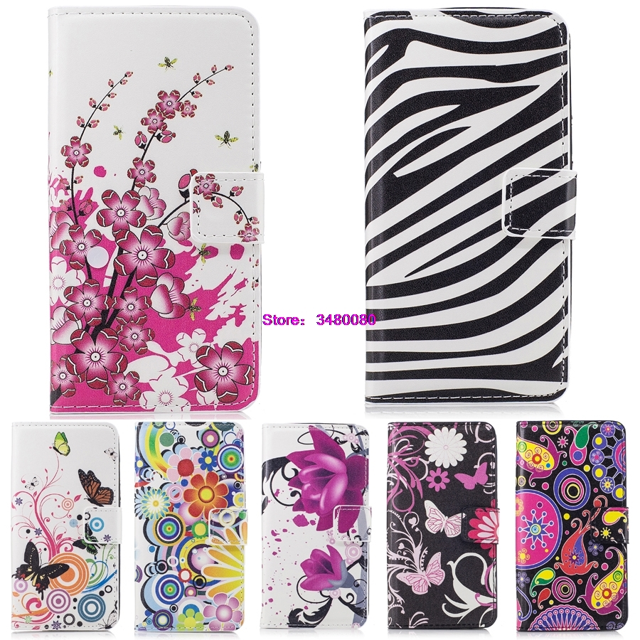 Case for <font><b>Samsung</b></font> Galaxy A5 2015 A 5 500 A500 <font><b>A500FU</b></font> SM-<font><b>A500FU</b></font> SM-A500K SM-A500L SM-A500M SM-A500H Painted Phone Leather Cover image