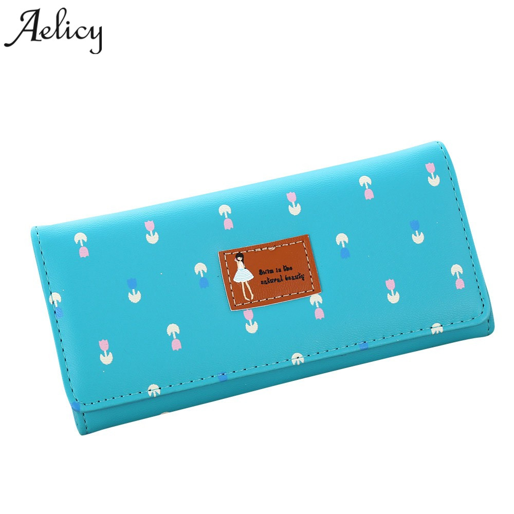 Aelicy New Envelope Clutch Large Capacity Wallet For Women PU Leather Hasp Fashion Wallet For Phone Money Bags Coin Purse 1