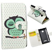 JR Flip PU Leather Case For Microsoft Nokia Lumia 532 Dual SIM Cover Wallet Phone Cases