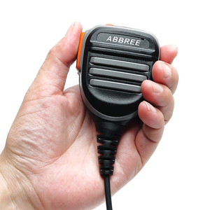 Image 4 - Abbree AR 780 PTT REMOTE กันน้ำลำโพงไมโครโฟนสำหรับวิทยุ Kenwood TYT Baofeng UV 5R 888S UV 82 Walkie talkie