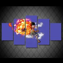 Art Abstract Indoor Decor 20x35cmx2 20x45cmx2 20x55cm R7 font b Anime b font One Piece Luffy