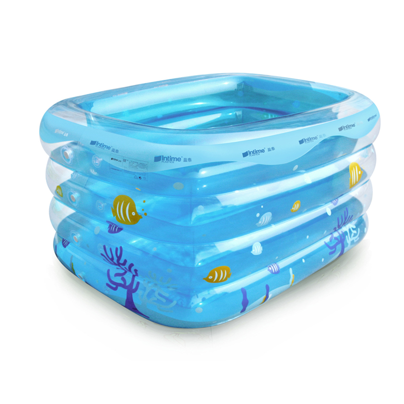 High quality children 39 s inflatable swimming pool pvc for Piscina rectangular