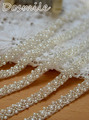 2016 new arrival elegant wedding belt bridal sash band with beads blings sparkles custom made satin sash