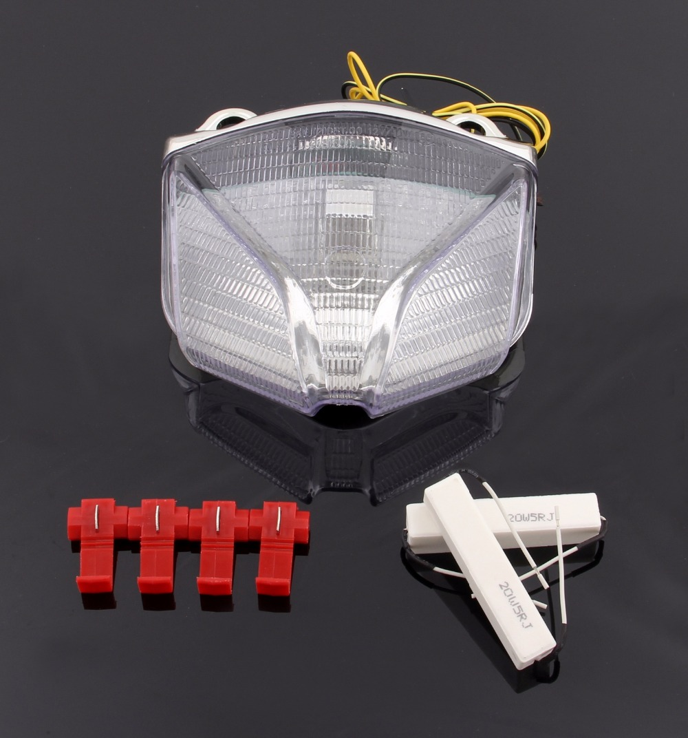Areyourshop Motor Styling for MV Agusta Sprada F4 F1000 Brutale Strada Motorcycle Integrated LED Taillight Turn Signals