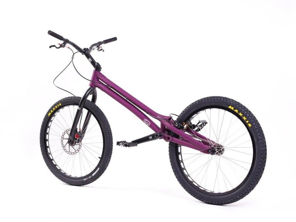 Le plus récent Original ECHOBIKE GU TI 24 pouces complet essai de vélo en alliage de titane pièces ECHO KOXX Rockman MONTY Hashtagg